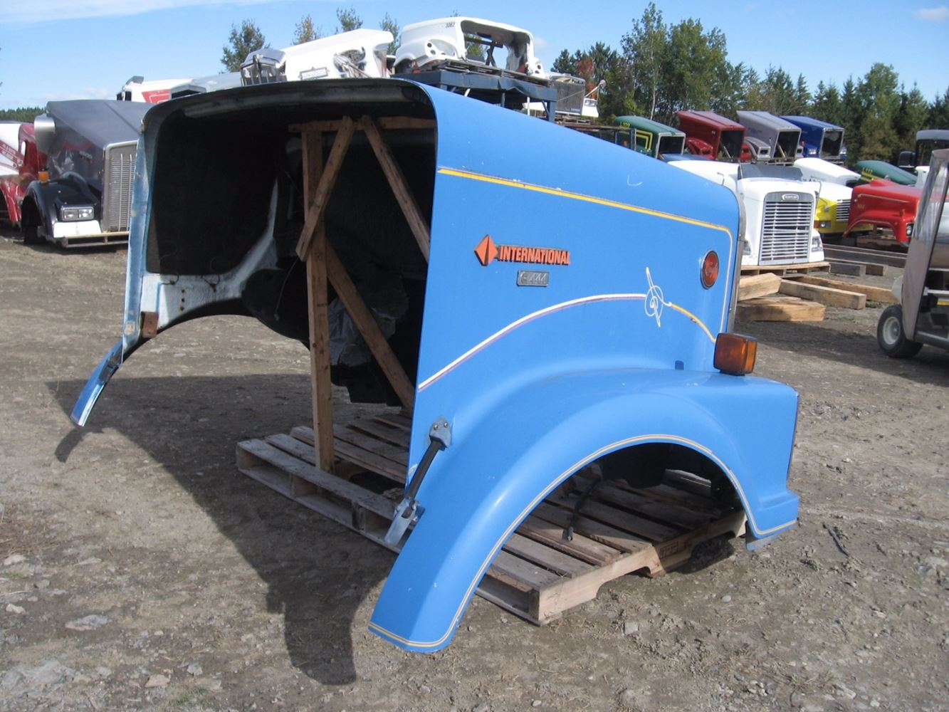 Windshield Wiper Motor >> 1989 International 9300 (Stock #5371H) | Hoods | TPI