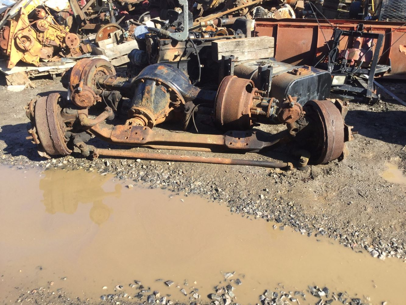 USED 1993 INTERNATIONAL 2554 AXLE ASSEMBLY TRUCK PARTS #555442