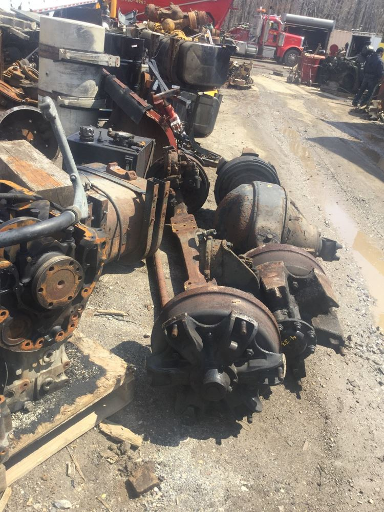 USED 1993 INTERNATIONAL 2554 AXLE ASSEMBLY DUMP TRUCK #555430