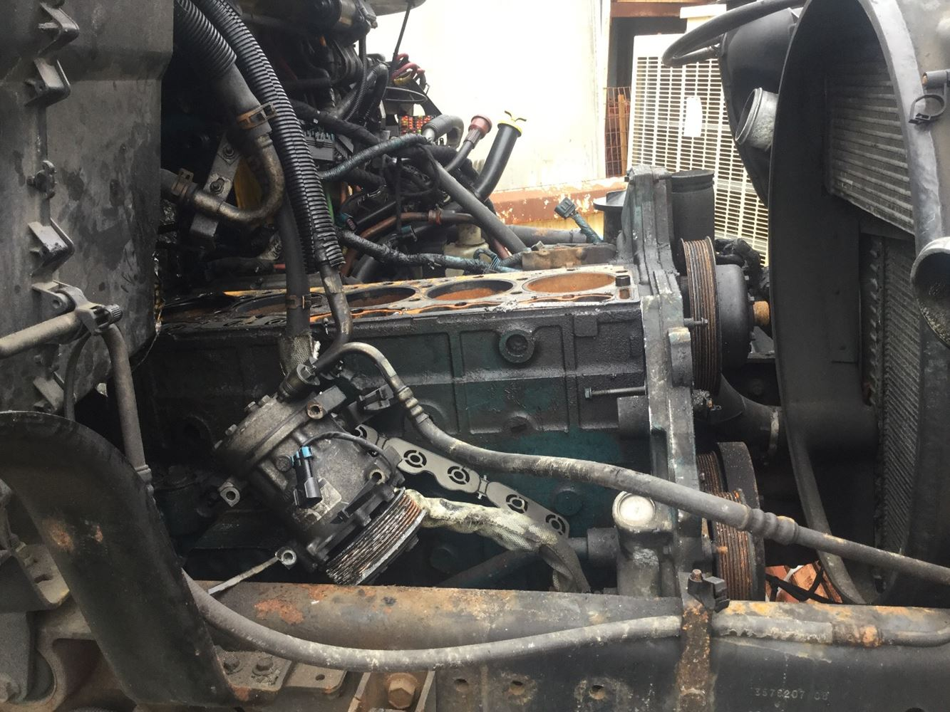 2005 International Dt466e  Stock  Salvage