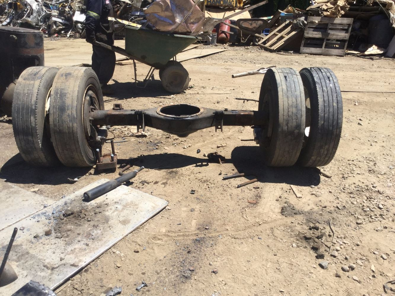 Dana Rear Axle Tractor : Used rockwell rt axle housing for sale