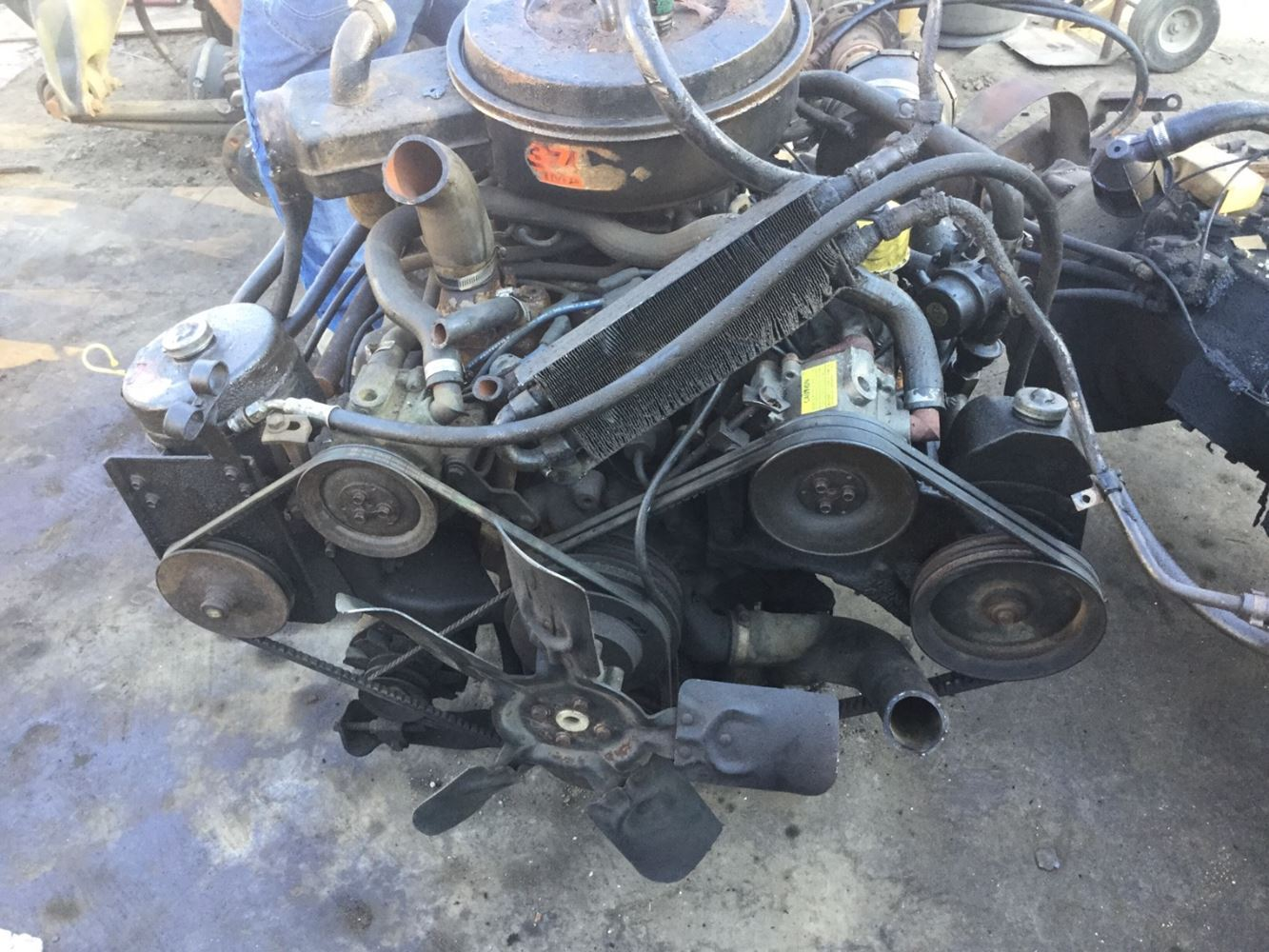 1986 ford 370  stock  salvage