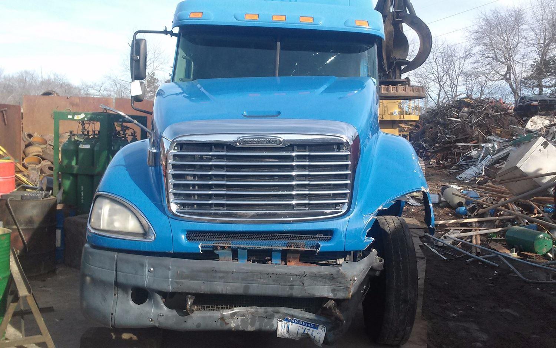 Semi Truck Hoods : Freightliner hoods for sale