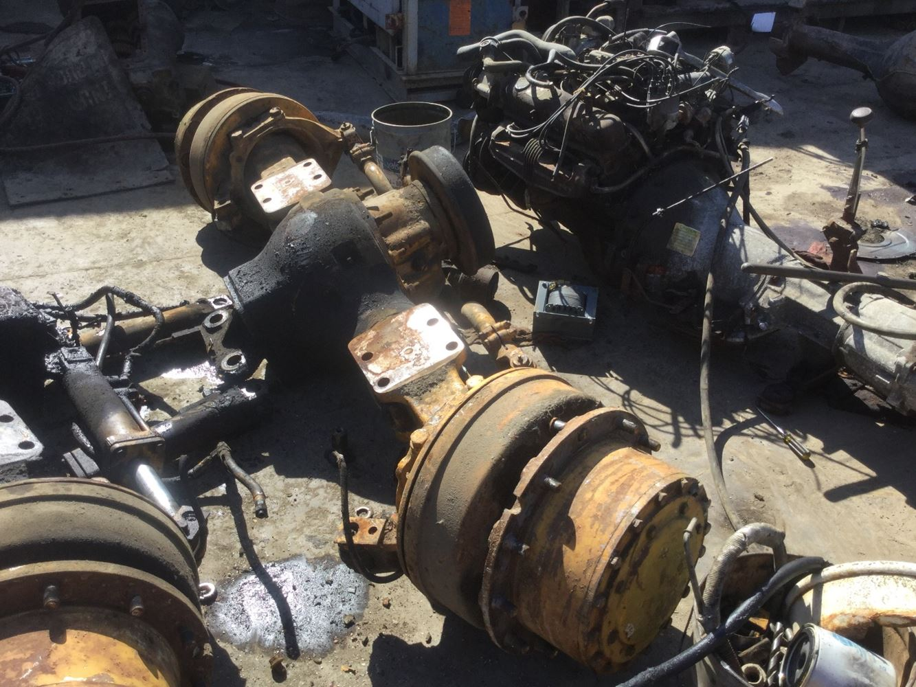 Meritor Front Axles : Meritor rockwell axles for sale