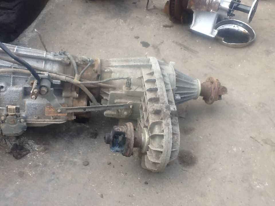 2002 New Process/New Venture 534 Transfer Case Assembly