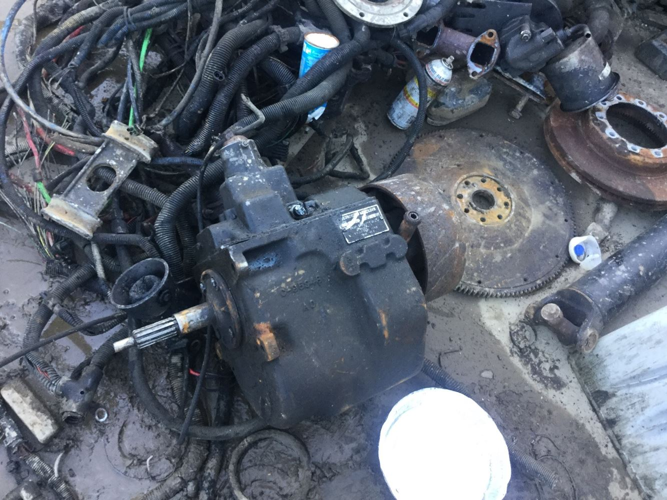 New Process/New Venture 435 Transmission Assembly