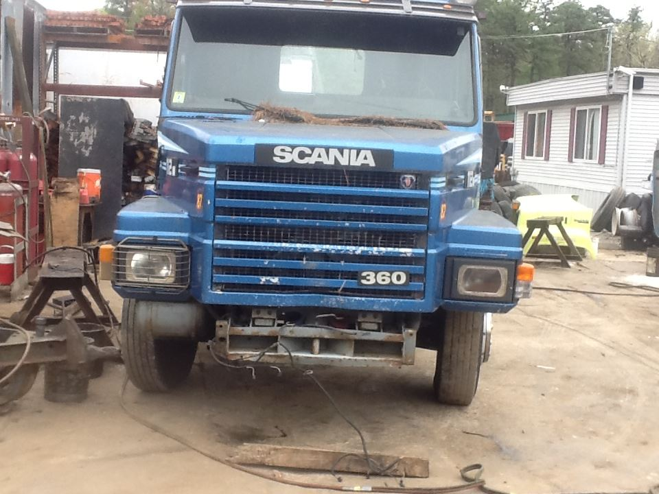 1987 Scania 112M Hood