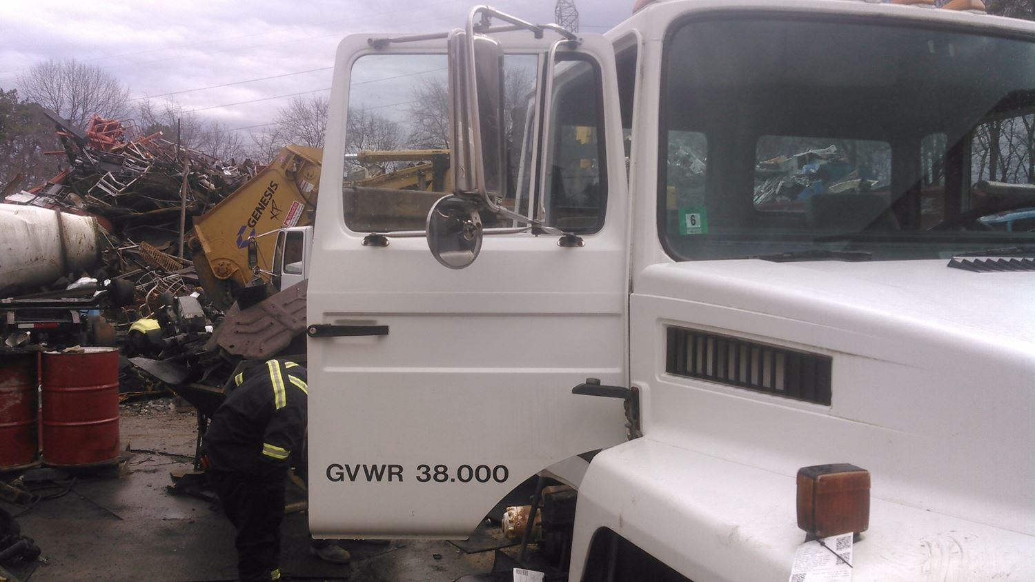 1989 Mack CS300P Door