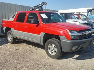 GM/Chev (HD) 1500 - Complete 2002 CHEVRLOLET AVALANCHE