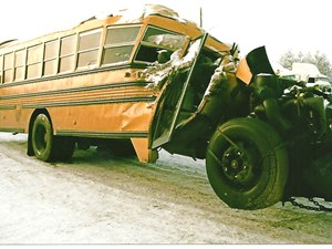 Blue Bird Bluebird School Bus - Salvage 2699-BLUEBIRD BUS