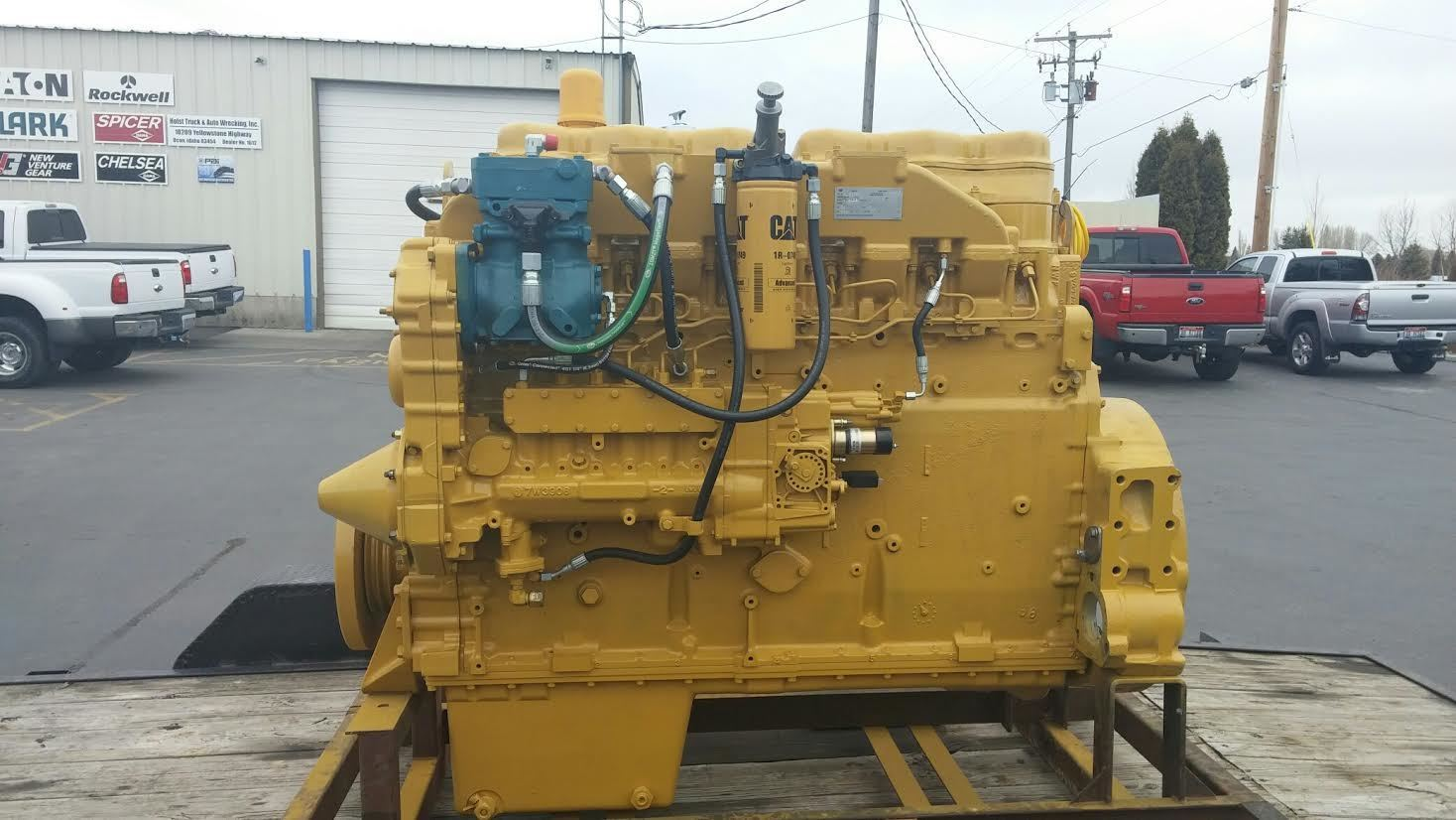 Caterpillar 3406b Stock P 8 Engine Assys Tpi