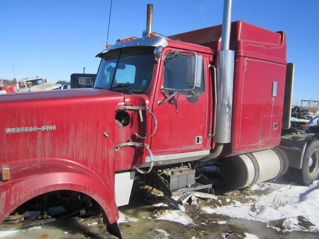 1998 Western Star 4964 Stock 89 Sleepers Tpi