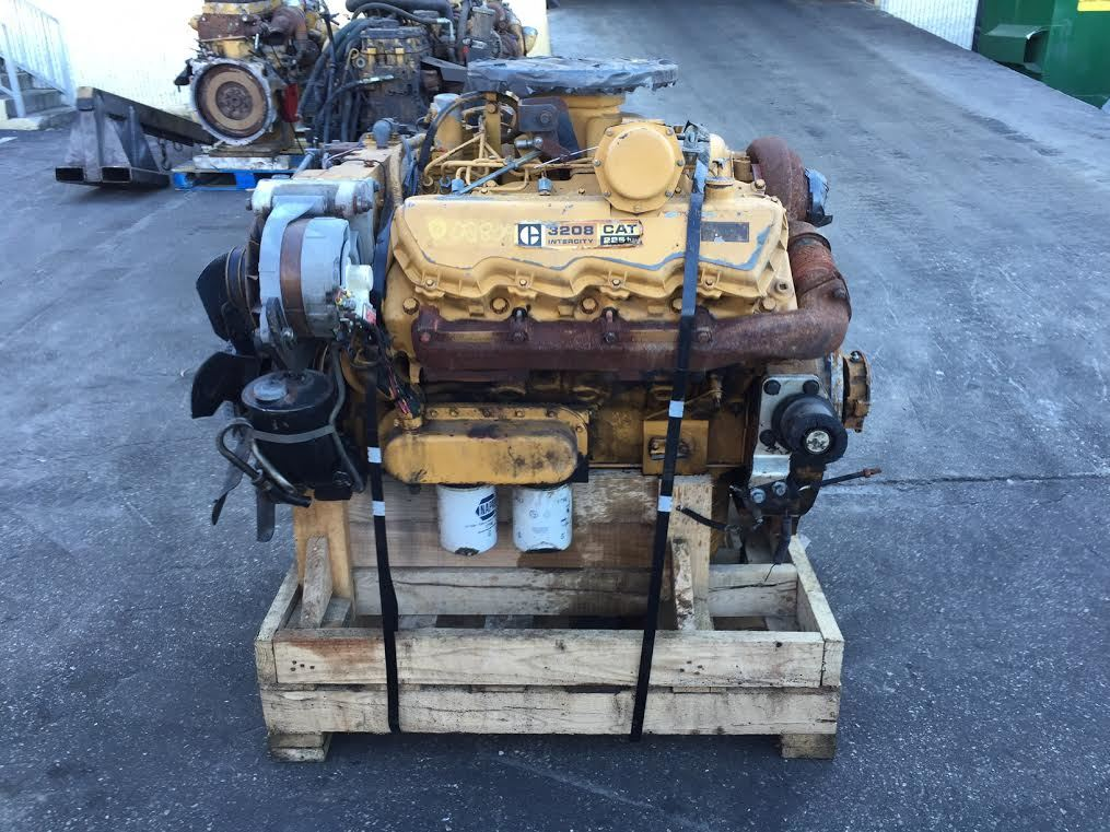 Caterpillar 3208 Turbo Stock 002809 Engine Assys Tpi