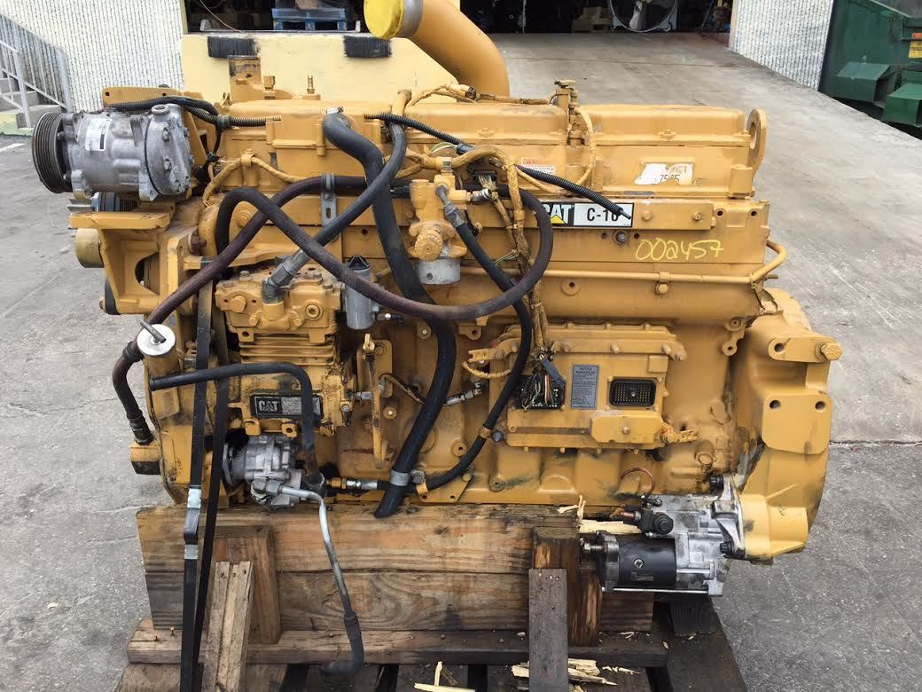 caterpillar c10 horsepower