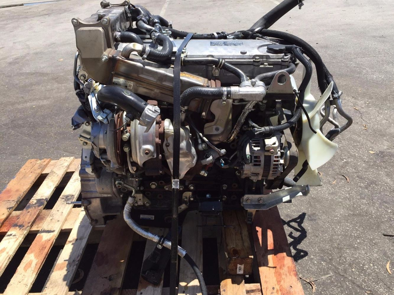 Isuzu 4hk1 Tc Stock 002924 Engine Assys Tpi
