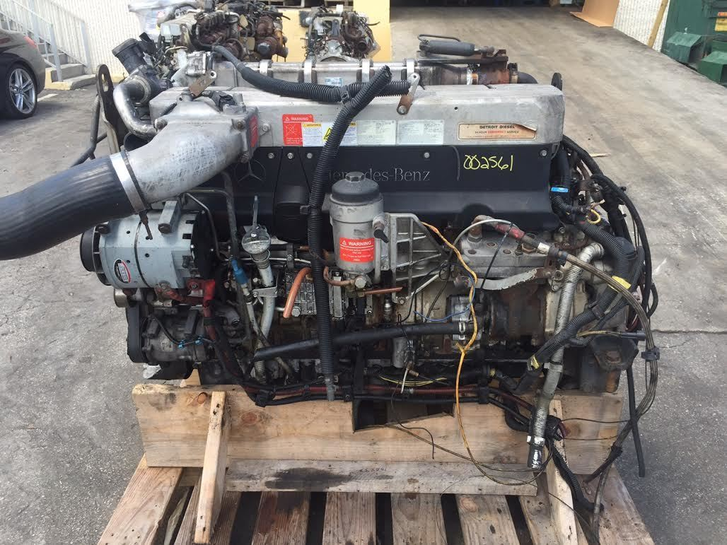 Mercedes Om460la Stock 002561 Engine Assys Tpi