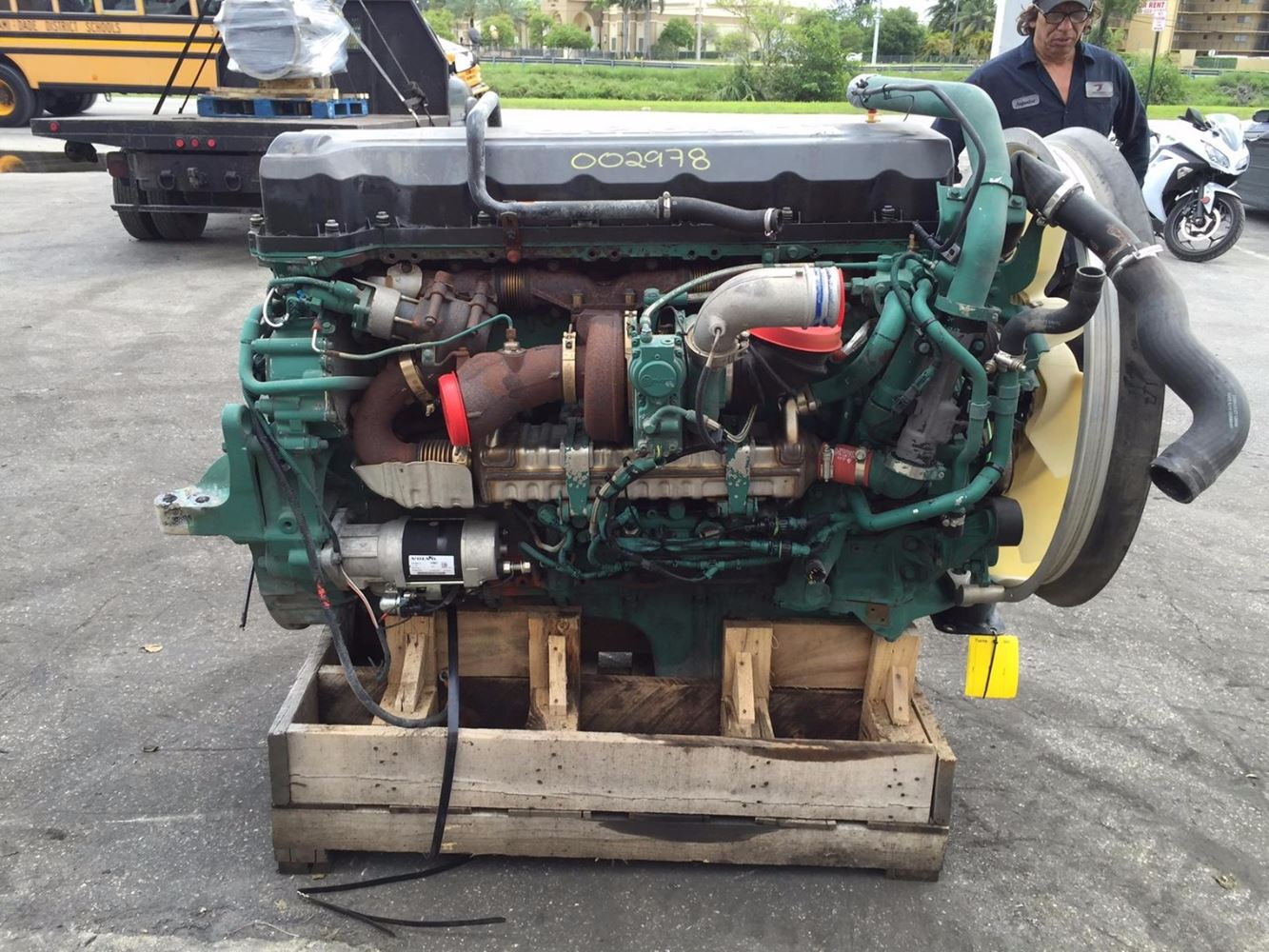 Volvo D13 (Stock #002978) | Engine ys | TPI