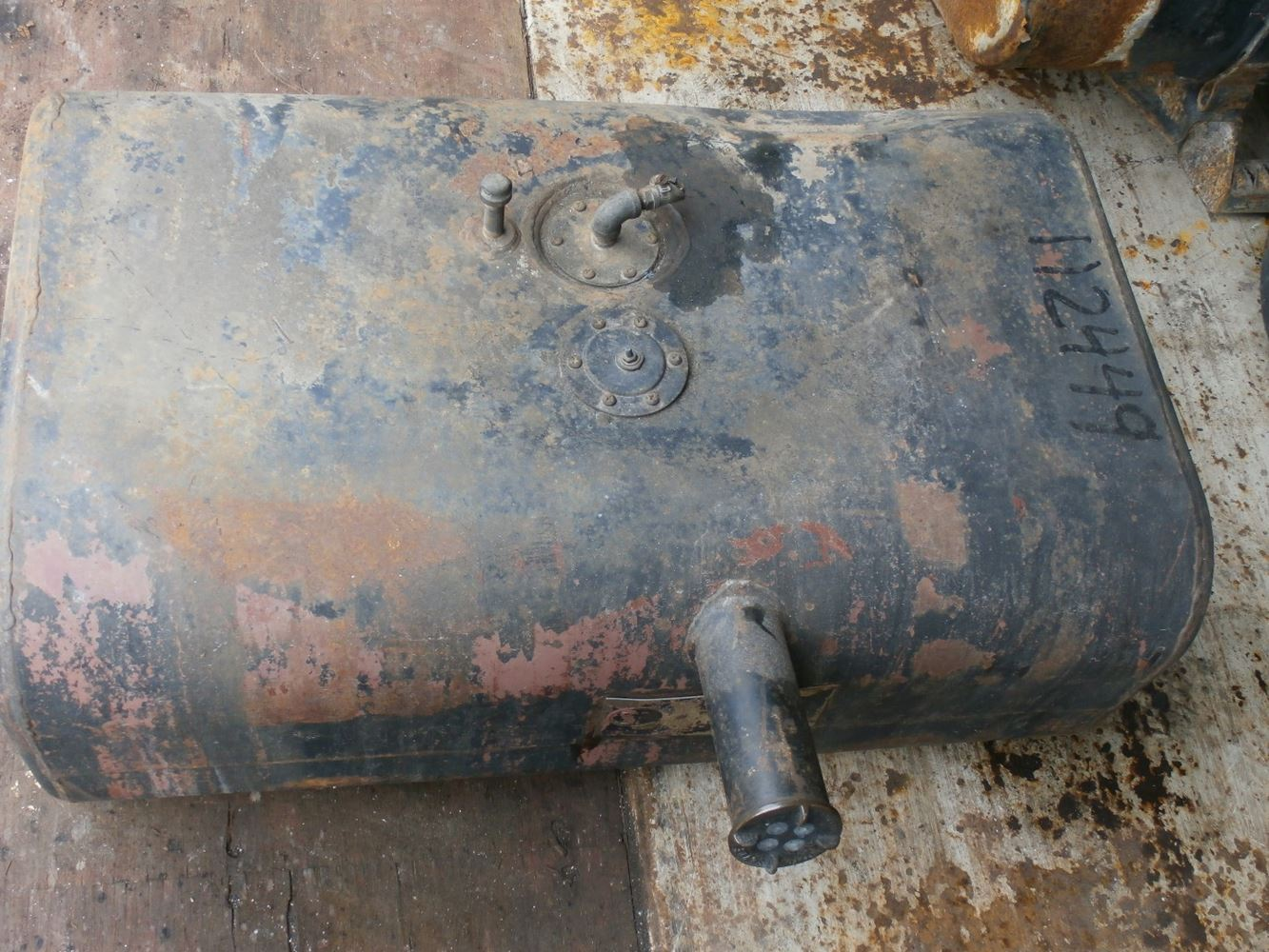 1971 Ford F700 Stock P 150 Fuel Tanks Tpi