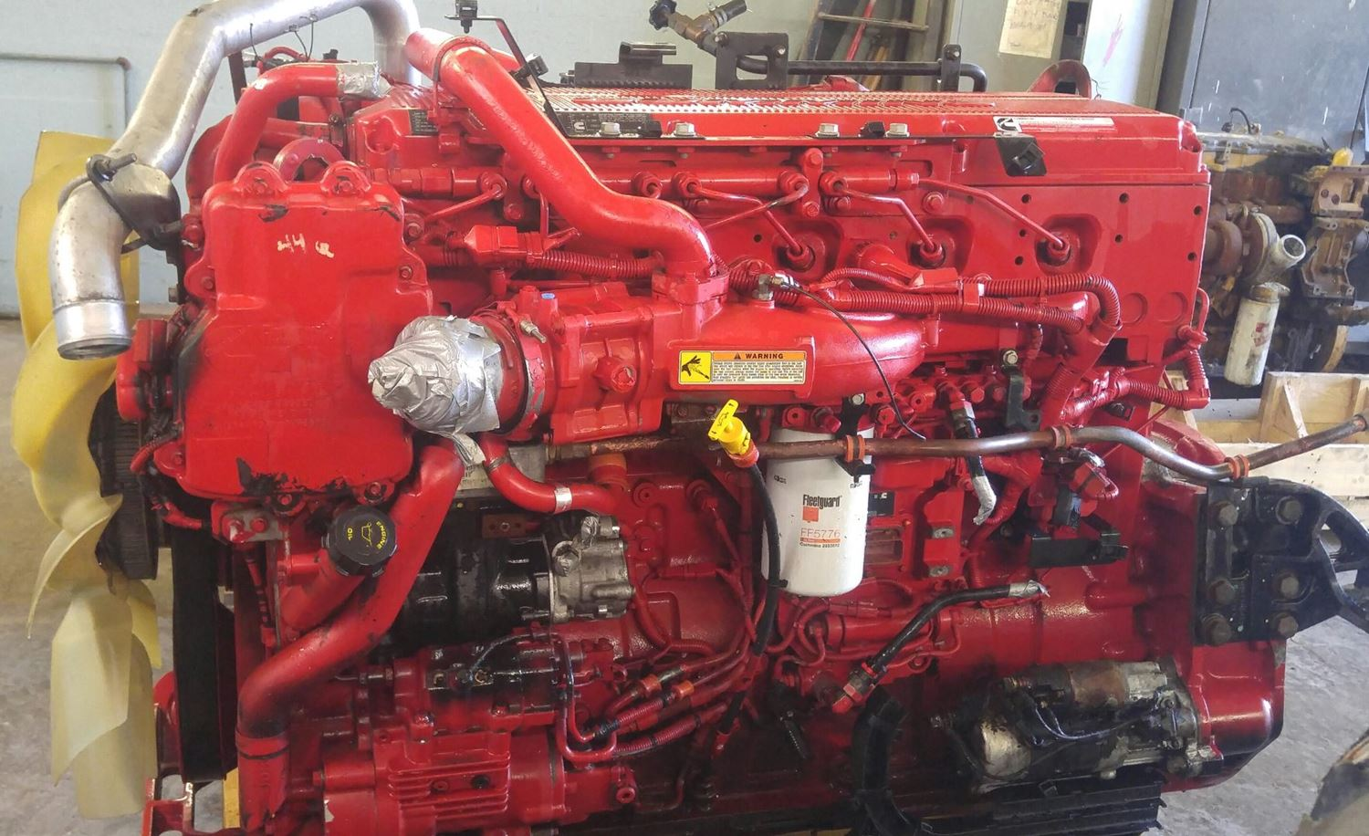 2015 Cummins ISX Stock P 1094 Engine Assys TPI