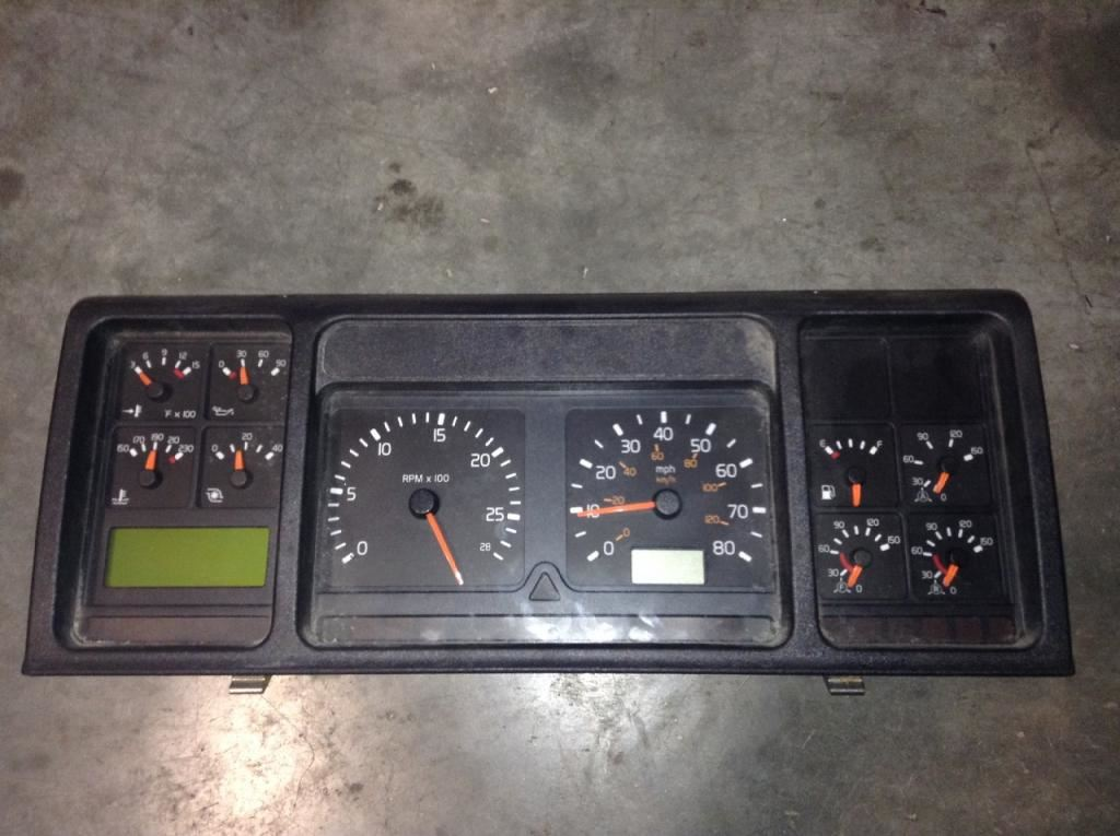 1999 volvo vnl stock 24517401 instrument cluster tpi. Black Bedroom Furniture Sets. Home Design Ideas