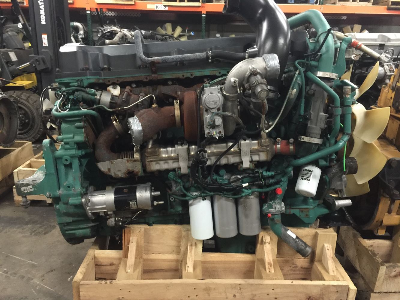 2011 volvo d13 stock 227799 engine assys tpi for Volvo motors for sale