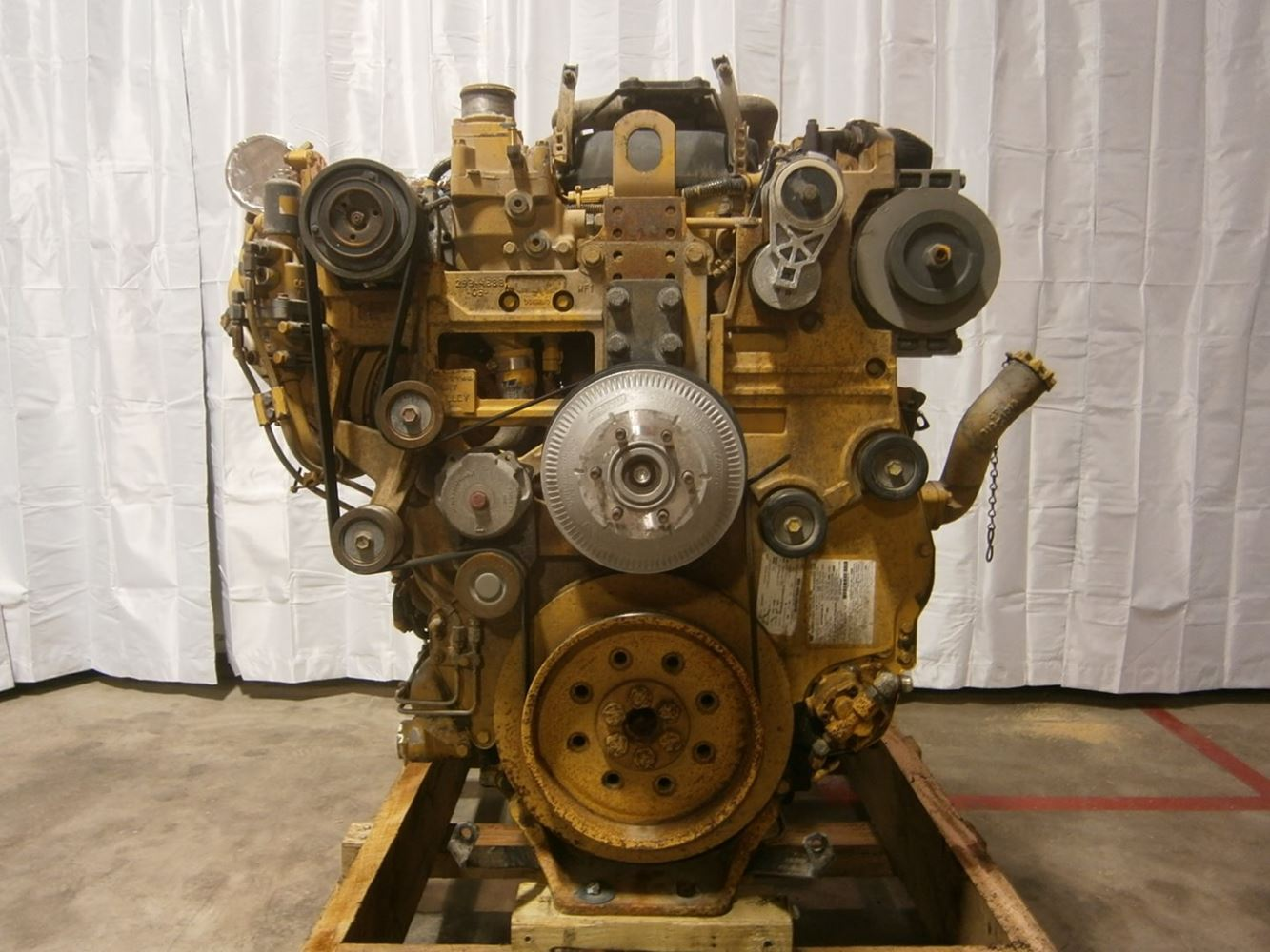 caterpillar c13  stock  eng