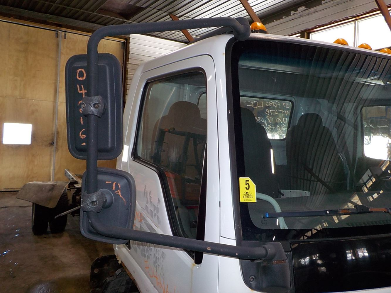 2007 ford lcf (stock 04216 12) mirrors tpi Ford LCF Model Ford LCF Dump Truck Ford LCF Engine