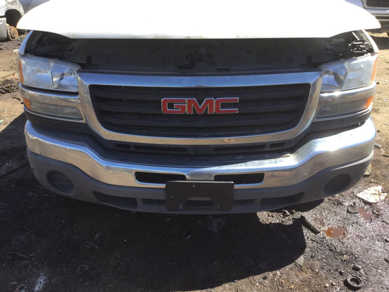 Gmc Truck Parts >> 2005 Gmc Sierra Stock 3261 Bumpers Tpi