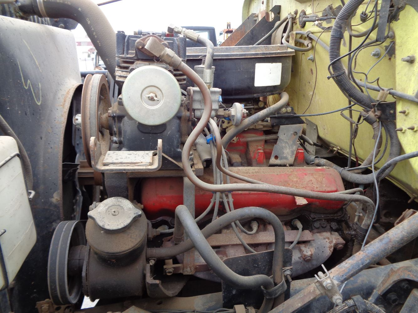 1981 international 392 stock 612 4 air compressors tpi v8 engine control diagram v8 engine wiring diagram