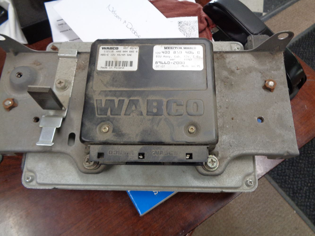 Brake Controller Wiring >> 2008 Wabco Other (Stock #497-35) | ABS Control Modules | TPI