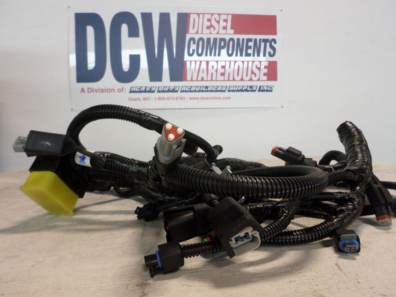 Cummins Isx Stock Dcw4404ti Wiring Harnesses Tpi Ism Harness Image For Part Media