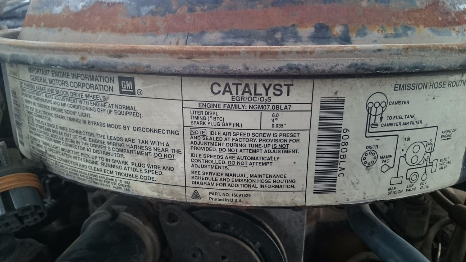 Used Parts for 1992 GMC TOPKICK for sale-59044160
