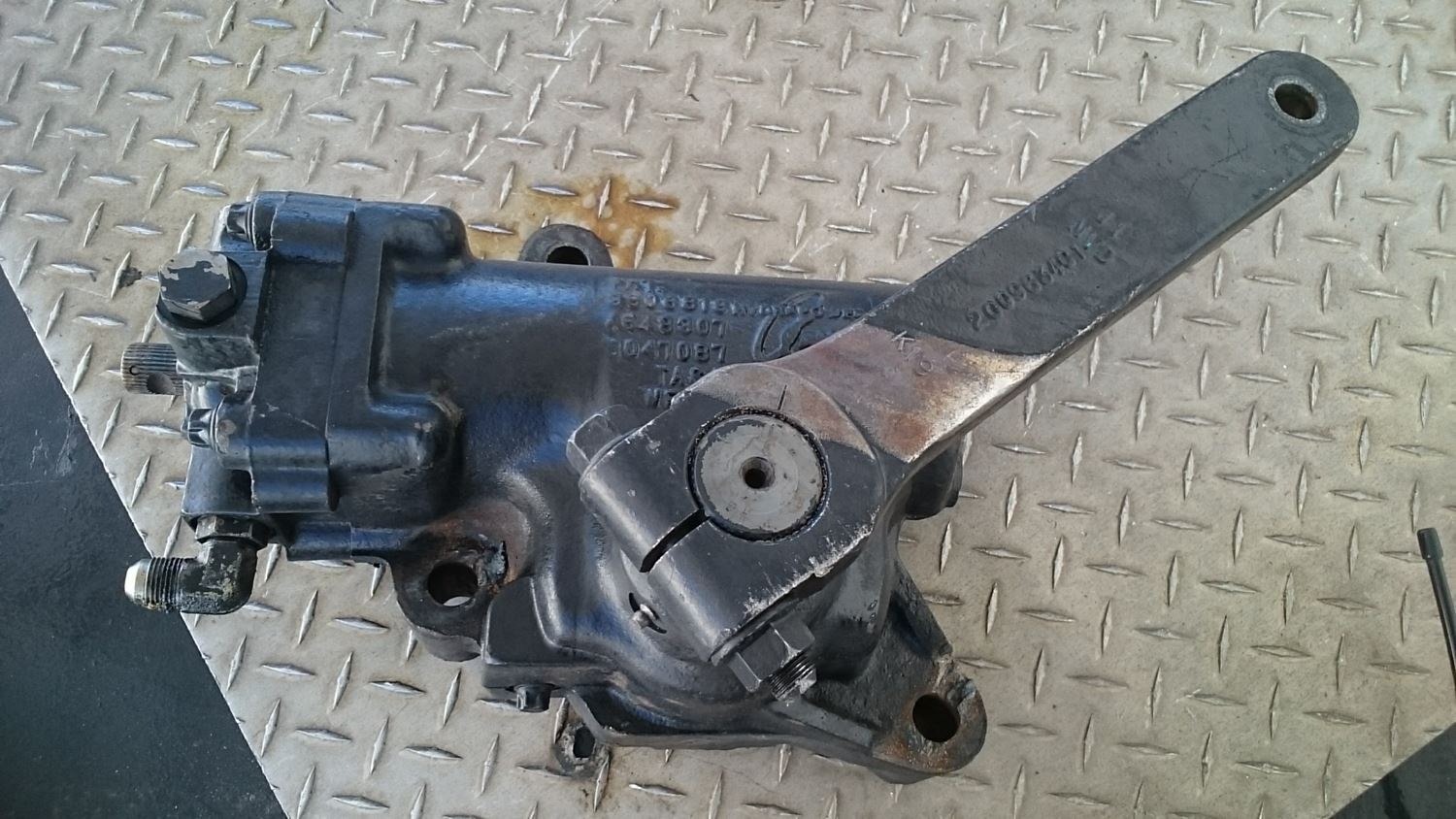 Used Steering & Steering Parts - Steering Gears for 1996 Mitsubishi-Fuso FE for sale-59040408