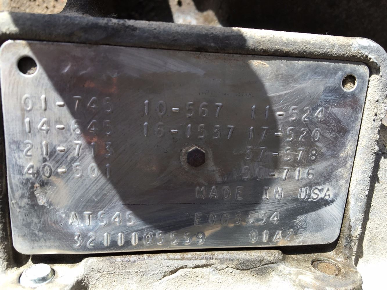 Used Parts for 2001 GMC C6500 for sale-58980129