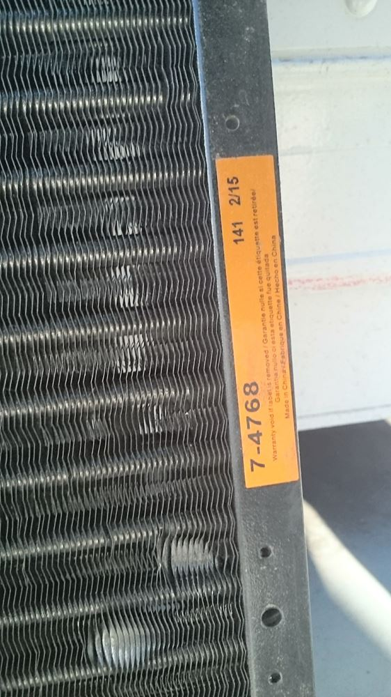 Used A/C Condensors for 2003 Ford E-450 for sale-58977546
