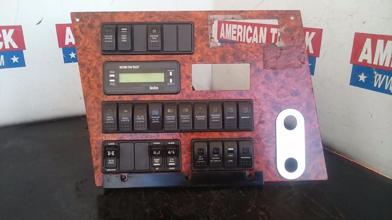 Dash Assys New And Used Parts American Truck Chrome Western Star Radio Wiring Harness Assembly Panel With Switches Trucks Datastar Information Center For 2005 4900ex
