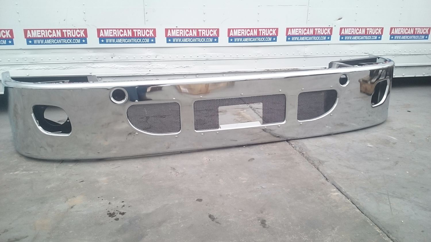 Chrome Truck Bumper >> Bumpers New And Used Parts American Truck Chrome
