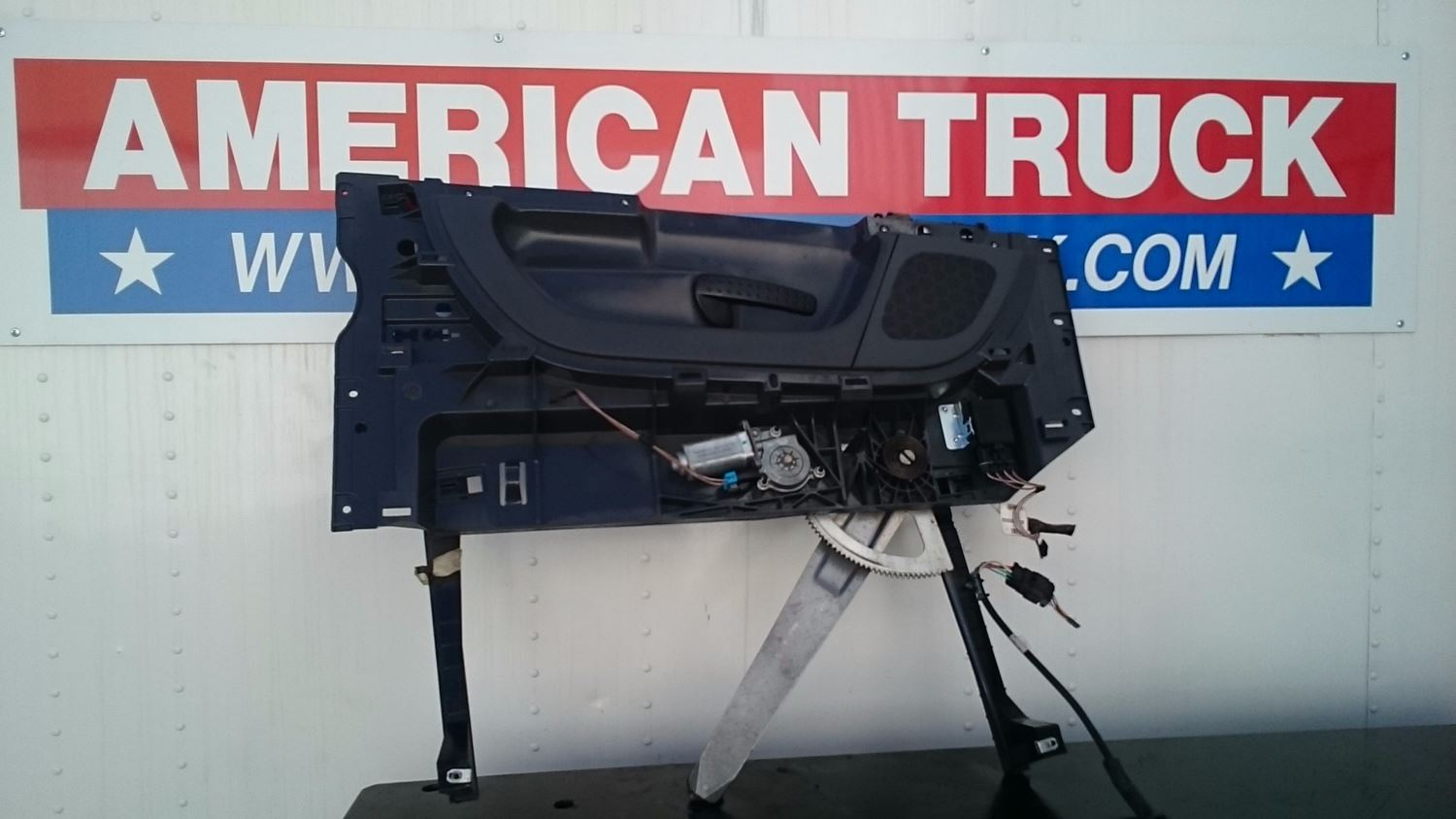 interior misc parts new and used parts american truck chrome used complete interior driver side door panel off 2012 freightliner cascadia