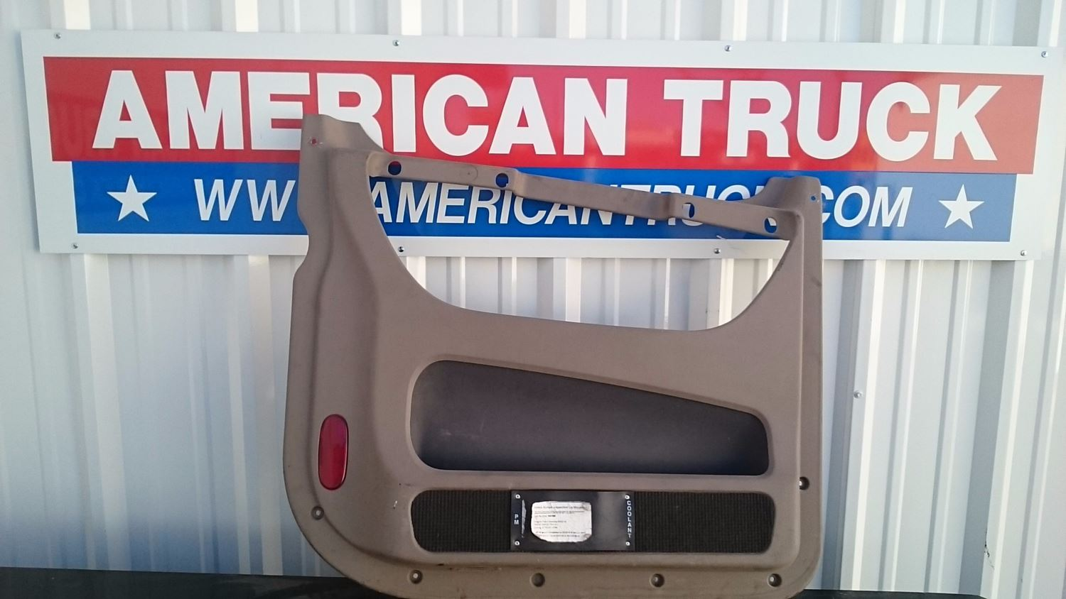 interior misc parts new and used parts american truck chrome used driver side interior shell cover for door paneloff 2012 freightliner cascadia