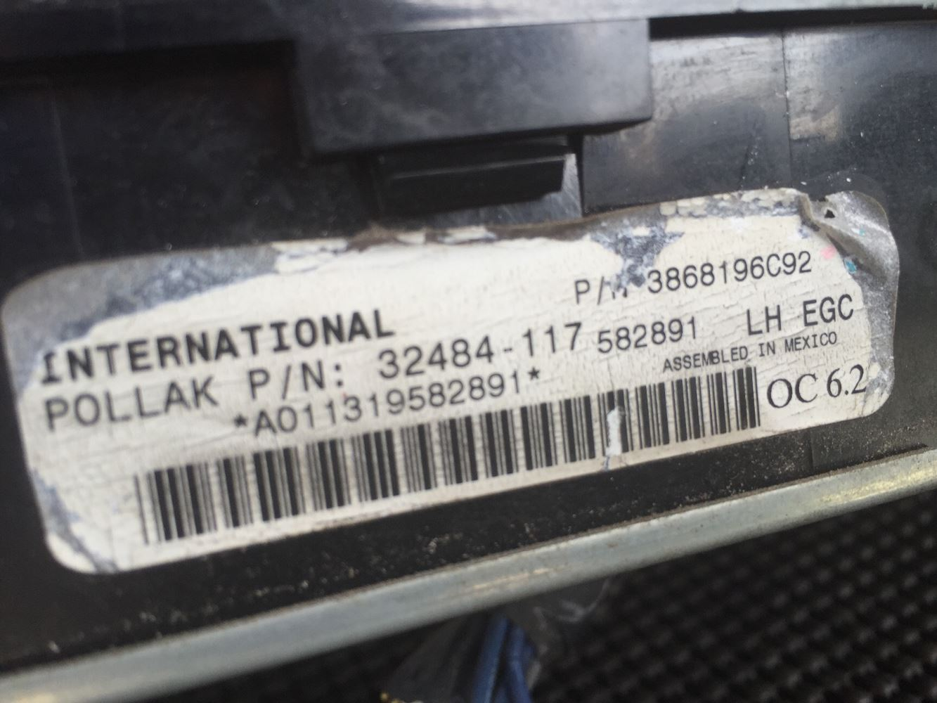 Used Parts for 2012 INTERNATIONAL PROSTAR for sale-59042670