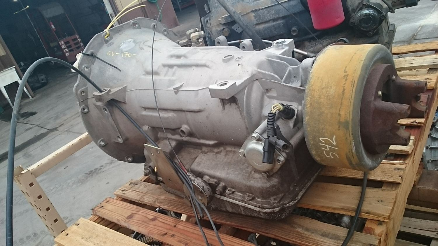 2000 Allison At542 Stock Sv 170 9 Transmission Assys