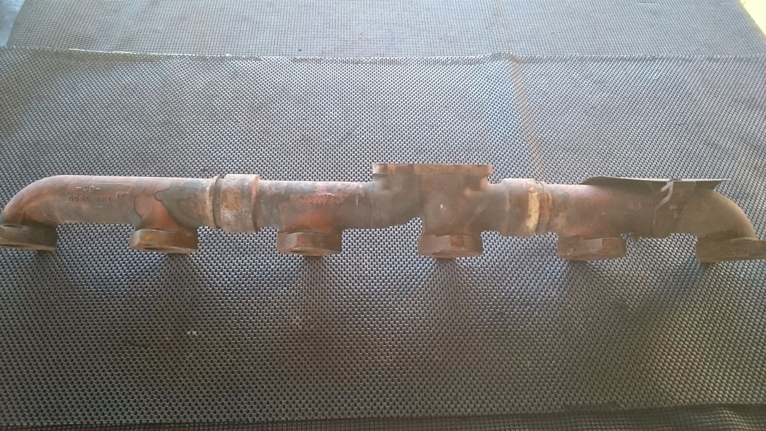 Exhaust Manifolds New And Used Parts American Truck Chrome 3406e Caterpillar Engine Wiring For 146l Exhauast Manifold