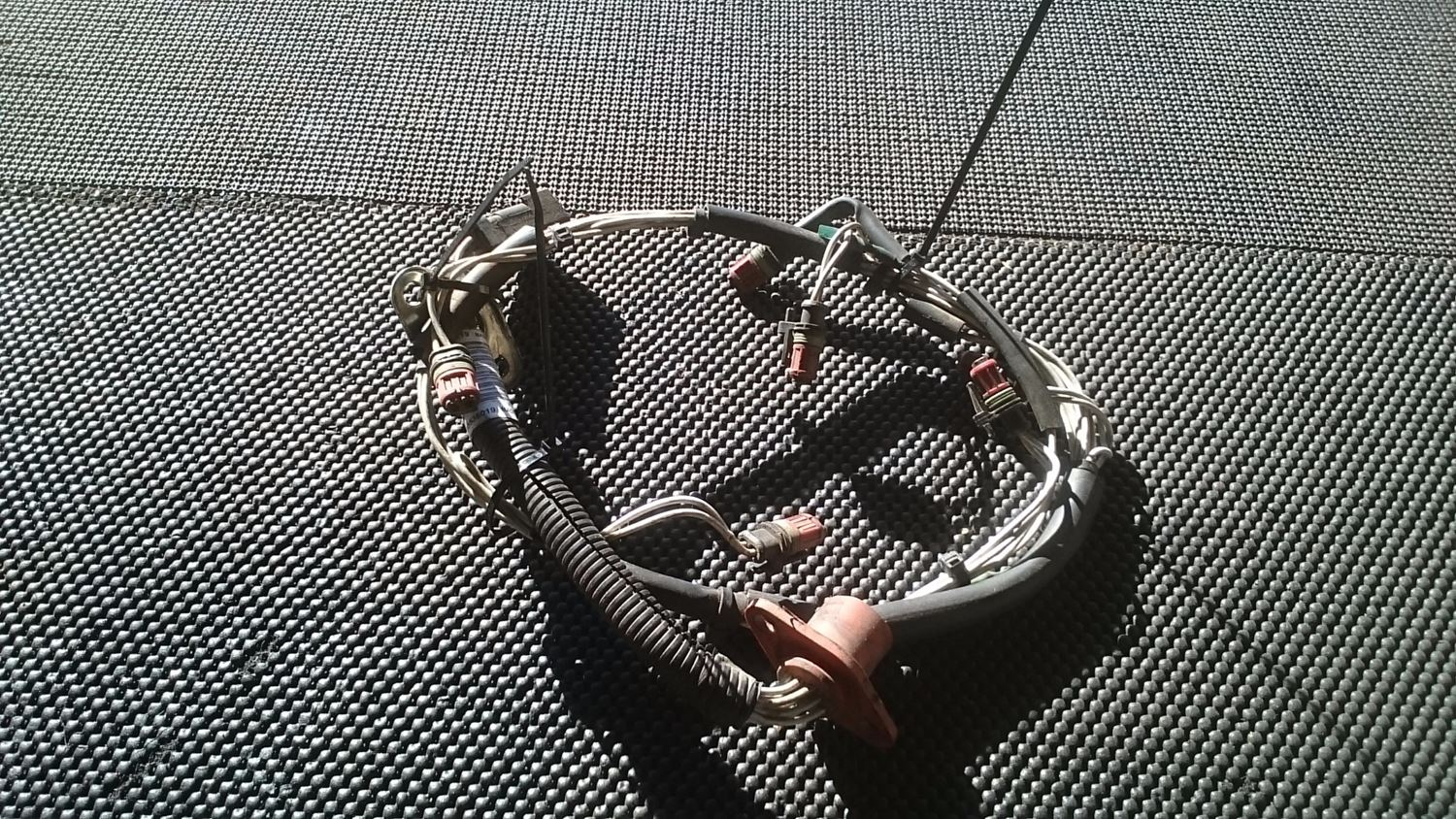 Wiring Harnesses New And Used Parts American Truck Chrome Injector Wire Harness Detroit Diesel Fuel Injection