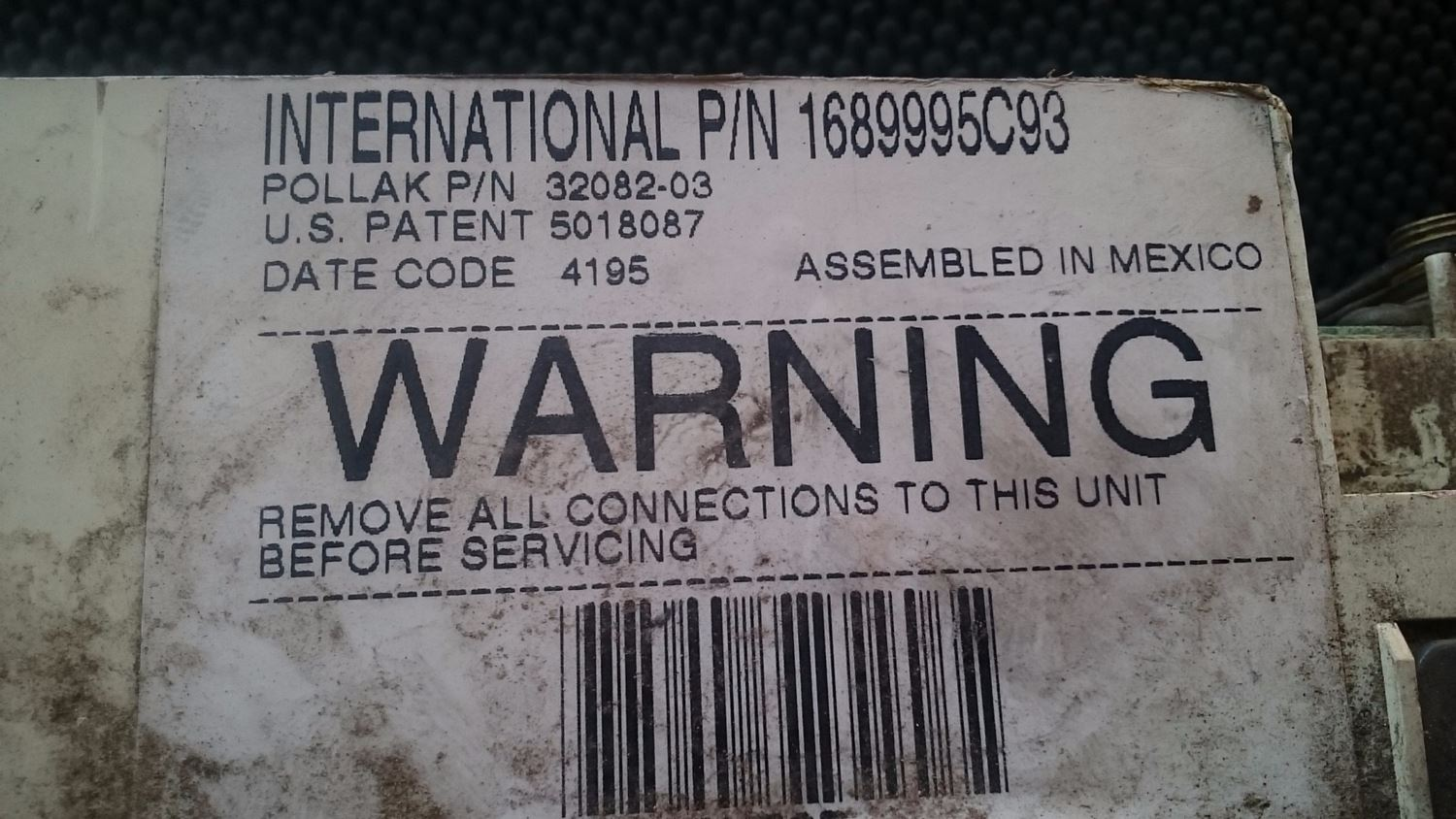 Used Parts for  INTERNATIONAL NAVISTAR for sale-58978421