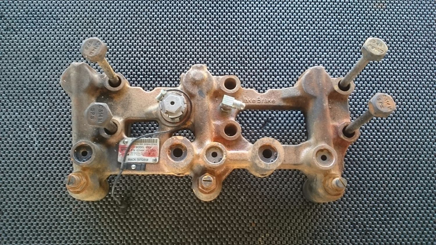 Engine Brakes New And Used Parts American Truck Chrome Mack Wiring Harness Frame Model 690a Jake Brake For A E7