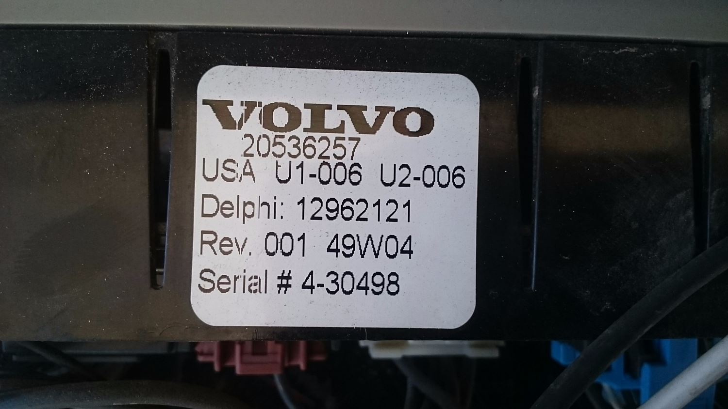 Used Parts for  VOLVO VNL for sale-58978670