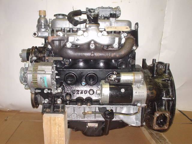 2011 Isuzu C240 Stock 7258 Engine Assys Tpi