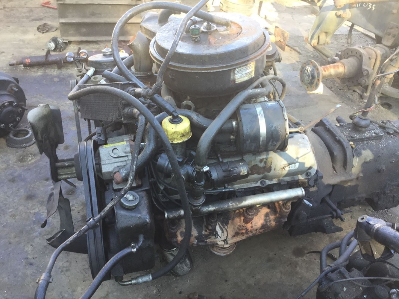 1986 Ford 370 Stock Salvage 680 Foe 1690 Engine Assys