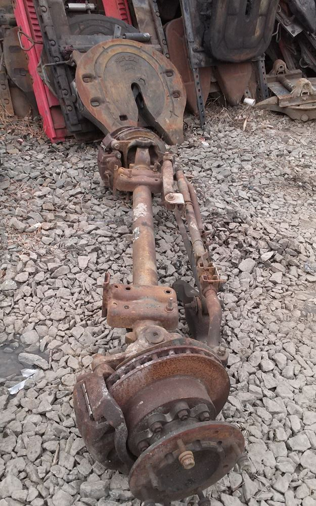 1999 Ford F450 Stock FOFA 222 Front Axles Complete TPI