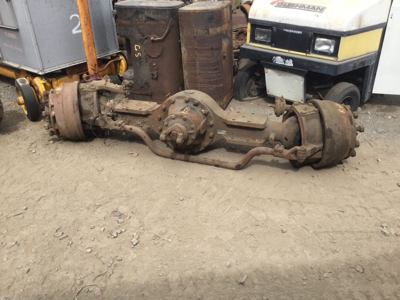 Meritor Drive Axle Parts : Meritor rockwell fds sax stock fda front
